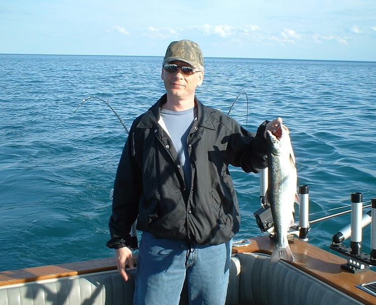Pictures from lake michigan charter fishing for king for Chicago fishing charters